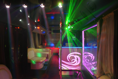 Party Bus Golden Prime на прокат в Киеве