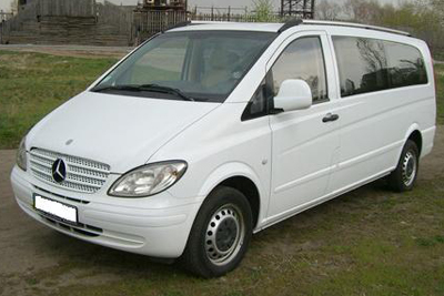 Mercedes Vito Extra Long на прокат в Киеве